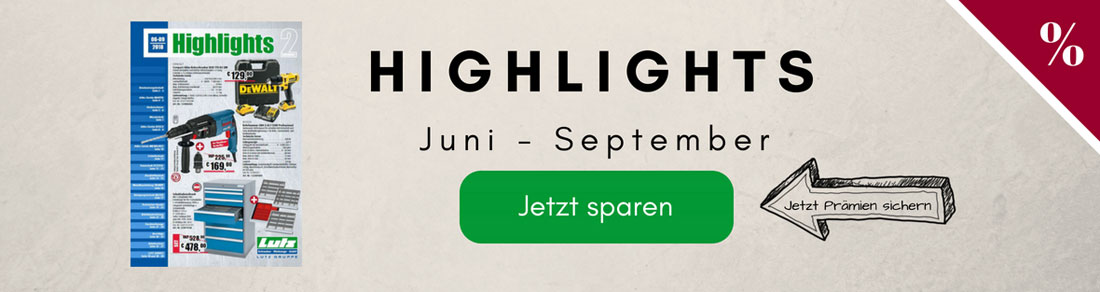 Unser neues Prospekt Highlights 2