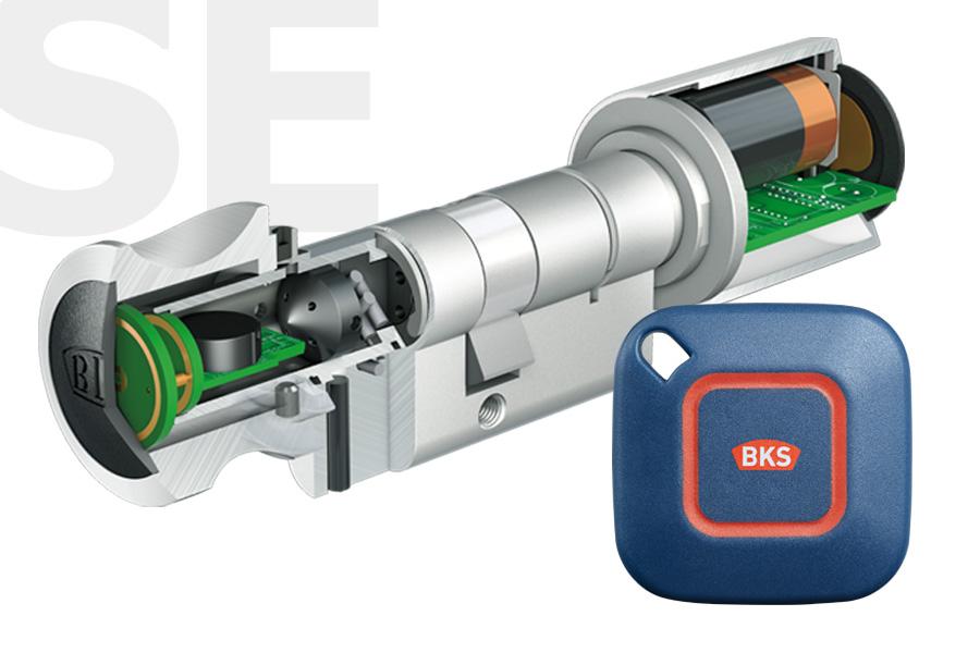 elektronischer schliesszylinder bks schlieazylinder abus