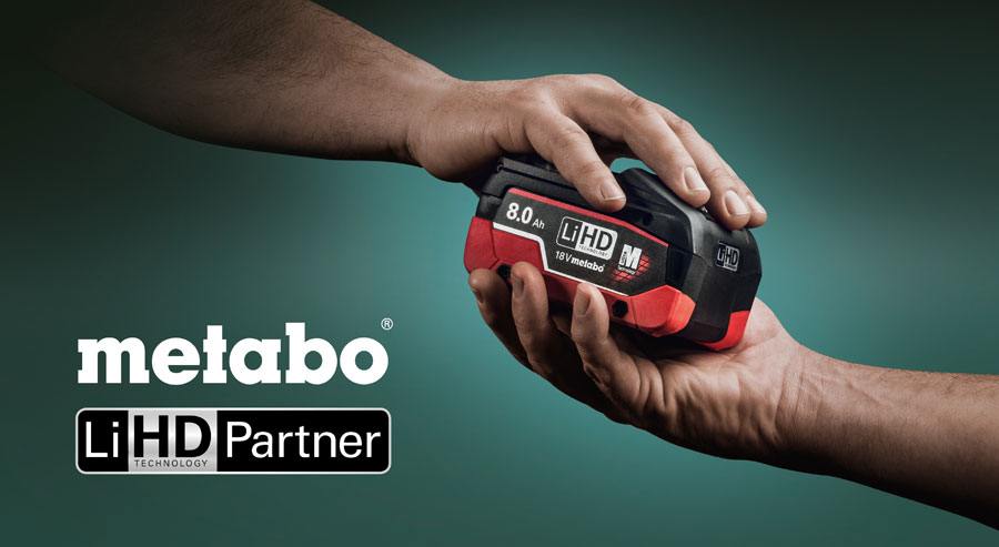 Metabo LiHD Partner Hand in Hand