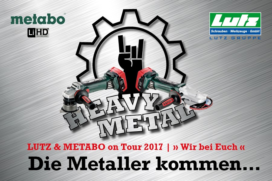 LUTZ Heavy Metal Tour Logo